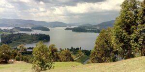 Lake bunyonyi views