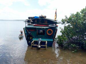 Mvule Boat